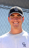 Chad Bettis - Colorado Rockies - 2010 Instructional League.Photo by:  Bill Mitchell/Four Seam Images..