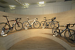 The ACR collection on display in the showroom, Colnago Factory, Cambiago, Italy. 30th September 2015.<br /> Picture: Eoin Clarke | Newsfile