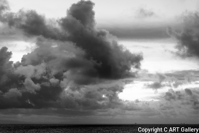 Clouds 1, Corona del Mar, CA.