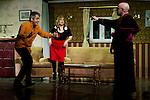 "07.05.2012. Go Figure ""The Order"" at the Teatro Häagen-Dazs Calderon sitcom written and directed by Luis Rodriguez Juan. In the picture: Jose Tejado, Esther Fernandez and Antonio Jimenez (Alterphotos/Marta Gonzalez)"
