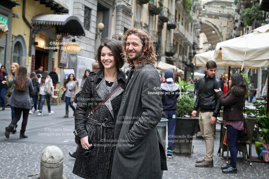 - NAPOLI 23 FEB -  Cinema Metropolitan di Napoli. presentazione fil  Le leggi del desiderio con Silvio Muccino e Nicole Grimaudo