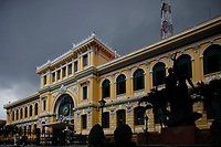 Ho-Chi-Minh city central post office, designed by  Gustave Eiffel
