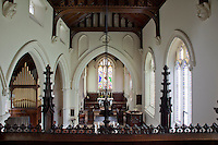 The chancel of St Michael and All Angels