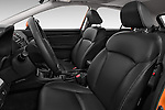 Front seat view of 2015 Subaru XV-Crosstrek Premium 5 Door SUV Front Seat  car photos
