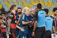 Rio de Janeiro (RJ), 12/07/2020 -Fluminense-Flamengo - Treinadores,durante partida contra o Flamengo,válida pela final do Campeonato Carioca,realizada no Estádio Jornalista Mário Filho (Maracanã), na zona norte do Rio de Janeiro,neste domingo (12).