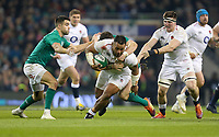 Saturday 2nd February 2019 | Ireland vs England<br /> <br /> Billy Vunipola during the opening Guinness 6 Nations clash between Ireland and England at the Aviva Stadium, Lansdowne Road, Dublin, Ireland.  Photo by John Dickson / DICKSONDIGITAL