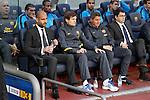 Barcelona's Josep Guardiola during la liga match on april 21st 2012...Photo: Cesar Cebolla / ALFAQUI