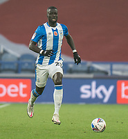 7th November 2020 The John Smiths Stadium, Huddersfield, Yorkshire, England; English Football League Championship Football, Huddersfield Town versus Luton Town; Mouhamadou-Naby Sarr of Huddersfield Town on the ball