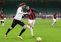 Milano  23-01-2021<br /> Stadio Giuseppe Meazza<br /> Campionato Serie A Tim 2020/21<br /> Milan - Atalanta<br /> nella foto:  Theo Hernandez                                                        <br /> Antonio Saia Kines Milano