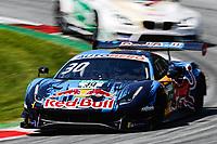 5th September 2021; Red Bull Ring, Spielberg, Austria; DTM Race 2 at Spielberg;  Spielberg: DTM Red Bull Ring 2021,  Liam Lawson NZ, Ferrari 488 GT3