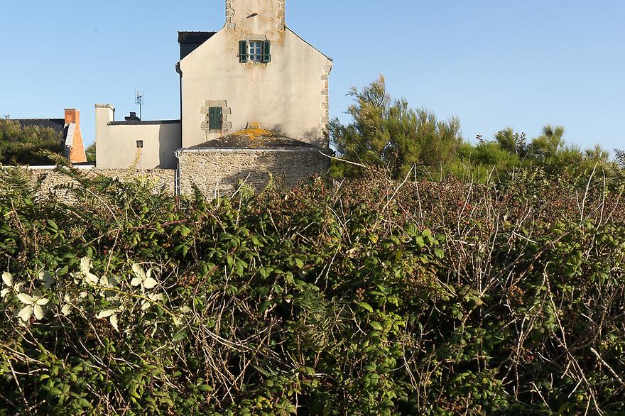 Ile d'Ouessant - Bretagna, 26 agosto 2020. Abitazione nei dintorni di Lampaul.