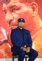 LOS ANGELES, CA - APRIL 28: Chris Arreola attends the press conference for the Andy Ruiz Jr. vs Chris Arreola Fox Sports PBC Pay-Per-View in Los Angeles, California on April 28, 2021. The PPV fight is on May 1, 2021 at Dignity Health Sports Park in Carson, CA. (Photo by Frank Micelotta/Fox Sports/PictureGroup)