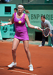 Petra Kvitova wins at Roland Garros in Paris, France on May 31, 2012