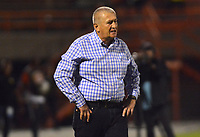 ENVIGADO- COLOMBIA, 31-08-2019.Eduardo Lara director técnico del Envigado ante Águilas Doradas durante partido por la fecha 9 de la Liga Águila II 2019 jugado en el estadio Polideportivo Sur de la ciudad de Medellín. /Eduardo Lara coach of Envigado agaisnt  Aguilas Doradas during the match for the date 9 of the Liga Aguila II 2019 played at Polideportivo Sur stadium in Medellin  city. Photo: VizzorImage / Leon Monsalve/ Contribuidor
