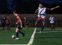 Dominick Sarle. U.S. Under-17 Men Training  Kano, Nigeria