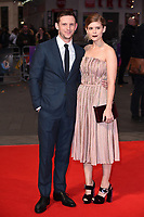 "Jamie Bell and Kate Mara<br /> arriving for the London Film Festival 2017 screening of ""Film Stars Don't Die in Liverpool"" at Odeon Leicester Square, London<br /> <br /> <br /> ©Ash Knotek  D3331  11/10/2017"