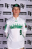Tony Rudolph (9) of Gatewood High School in Eatonton, Georgia during the Baseball Factory All-America Pre-Season Tournament, powered by Under Armour, on January 12, 2018 at Sloan Park Complex in Mesa, Arizona.  (Mike Janes/Four Seam Images)
