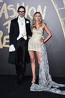 Joshua Kane and Olivia Arben<br /> arriving for the Fashion for Relief show 2019 at the British Museum, London<br /> <br /> ©Ash Knotek  D3519  14/09/2019