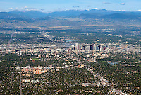 Denver, Colorado. Looking west. Aug 21, 2014.  812960