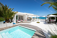 BNPS.co.uk (01202 558833)<br /> Pic: CapVillas/BNPS<br /> <br /> There is a heated pool with stunning views<br />  <br /> A glamorous villa that has hosted a string of celebrities including Winston Churchill, Pablo Picasso, the Duke of Windsor and Edith Piaf is on the market for £9m (10.5m euros).<br /> <br /> The exquisite Villa La Garoupe Beach sits on a natural sand beach and has its own private beach on one of the French Riviera's most exclusive spots.<br /> <br /> It was once a renowned beach club and the list of names connected to the property are endless. French singer Edith Piaf hosted her engagement party to Theo Sarapo there and it was also visited by former US President Harry Truman, writer Ernest Hemingway, Bond actor Sean Connery and movie star Marlene Dietrich.<br /> <br /> The property in Cap d'Antibes has four bedrooms suitable for six to eight people, three bathrooms and a living area overlooking the sea.
