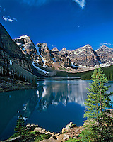 Moraine Lake & Valley of the Ten Peaks, Banff N.P., Canada