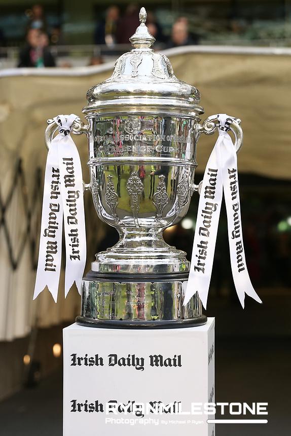 General View of the FAI Cup ahead of the Irish Daily Mail FAI Cup Final between Dundalk and Cork City, on Sunday 4th November 2018, at the Aviva Stadium, Dublin. Mandatory Credit: Michael P Ryan.