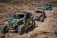 5th January 2021; Dakar Rally stage 3; #440 Becquart Patrick (fra), Becquart Romain (fra), Can-Am, BBR/Mercier, SSV Series - T4, action during the 3rd stage of the Dakar 2021 between Wadi Al Dawasir and Wadi Al Dawasir, in Saudi Arabia on January 5, 2021