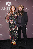 Morgane Stapleton, Chris Stapleton attend the 2021 CMT Artist of the Year on October 13, 2021 in Nashville, Tennessee. Photo: Ed Rode/imageSPACE/MediaPunch