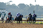 DEL MAR, CA  AUGUST 1: The start of the Clement L. Hirsch Stakes (Grade 1) Breeders Cup Win and You're In Distaff Division on August 1, 2021 at Del Mar Thoroughbred Club in Del Mar, CA. (Photo by Casey Phillips/Eclipse Sportswire/CSM)