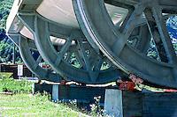 Airlight Energy, Biasca,sistema di rotazione del collettore solare