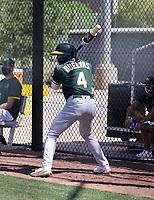 Brayan Buelvas - Oakland Athletics 2021 spring training (Bill Mitchell)