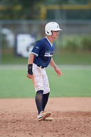 Nic Britt (5) during the WWBA World Championship at the Roger Dean Complex on October 10, 2019 in Jupiter, Florida.  Nic Britt attends Greenbrier Christian Academy in Chesapeake, VA and is committed to William & Mary.  (Mike Janes/Four Seam Images)