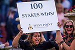 ARCADIA, CA - FEBRUARY 10: West Point owners winning the San Vicente Stakes at Santa Anita Park on February 10, 2018 in Arcadia, California. (Photo by: Alex Evers/Eclipse Sportswire/Getty Images)
