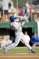 August 12, 2009: Brian Ruggiano of the Ogden Raptors. The Ogden Raptors are the Pioneer League affiliate of the Los Angeles Dodgers. Photo by: Chris Proctor/Four Seam Images