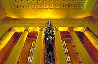 The 1929-34 30th St. Station is hub of Philadelphia transportation. Philadelphia Pennsylvania United States 30th St. Station.