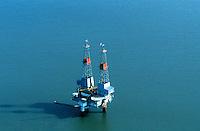 Oil platform, Alaska