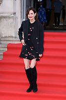 """Elizabeth McGovern<br /> arriving for the premiere of """"The Wife"""" at Somerset House, London<br /> <br /> ©Ash Knotek  D3418  09/08/2018"""