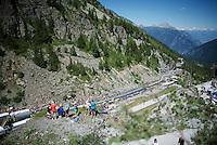 today's finish<br /> <br /> stage 17: Bern (SUI) - Finhaut-Emosson (SUI) 184.5km<br /> 103rd Tour de France 2016