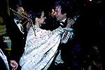 CARLA FRACCI CON RUDOLF NUREYEV<br /> FESTA COVERI A PALAZZO PISANI MORETTA VENEZIA 1985