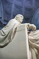 Benjamin Franklin statue at the Franlin Institute, Philadelphia, Pennsylvania, USA