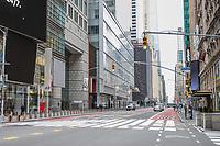 NOVA YORK, EUA, 25.03.2020 - CORONAVIRUS-EUA - Movimentação da Times Square em Manhattan durante a pandemia do Coronavirus COVID19 em Nova York nos Estados Unidos . (Foto: Vanessa Carvalho/Brazil Photo Press)
