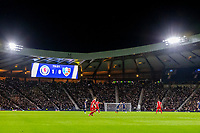 4th September 2021; Hampden Park, Glasgow, Scotland: FIFA World Cup 2022 qualification football, Scotland versus Moldova: Scotland fans put on a light display.