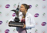 20160220 Tennis Sara Errani vince Dubai
