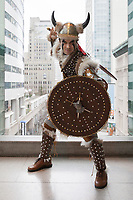 Viking Druid Cosplay, Emerald City Comicon, Seattle, WA, USA.