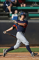 March 23, 2010: Tyler Pill of Cal. St. Fullerton during game  against Loyola Marymount at LMU in Los Angeles,CA.  Photo by Larry Goren/Four Seam Images