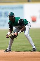Augusta second baseman Juan Jean (35) on defense versus Kannapolis at Fieldcrest Cannon Stadium in Kannapolis, NC, Monday, September 3, 2007.