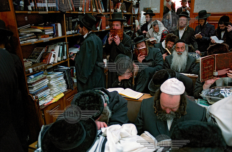 Around 20,000 Hasidic Jews gathered in Uman to celebrate Rosh Hashanah, Jewish New Year, in prayer rooms close to the grave of Rabbi Nachman of Breslov (1772-1810), a great-grandson of the Baal Shem Tov, founder of Hasidism.