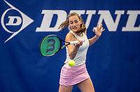 Amstelveen, Netherlands, 14  December, 2020, National Tennis Center, NTC, NK Indoor, National  Indoor Tennis Championships, Qualifying:  Annelin Bakker (NED) <br /> Photo: Henk Koster/tennisimages.com