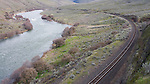 Washout Rapid and the BNSF rail line.