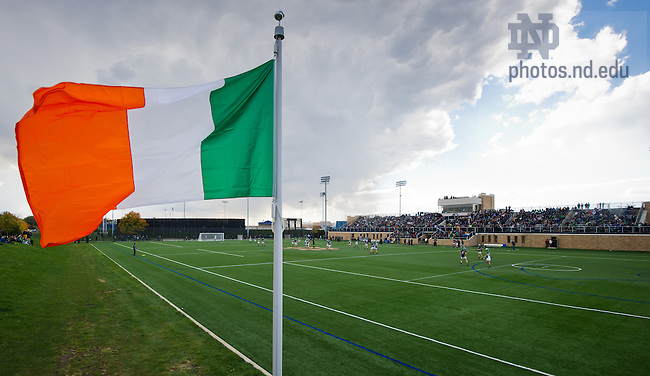 """Oct. 19, 2013; Hurling players from Ireland play the Super Hurling 11s """"The Celtic Champions Classic"""" at Arlotta Stadium.<br /> <br /> Photo by Matt Cashore/University of Notre Dame"""
